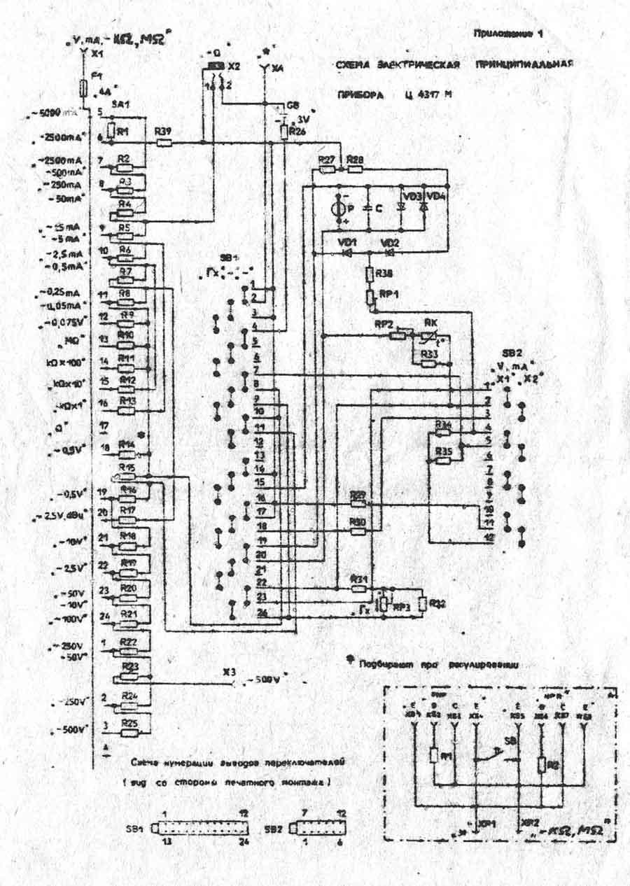 Прибор Ц4324 Инструкция По Применению